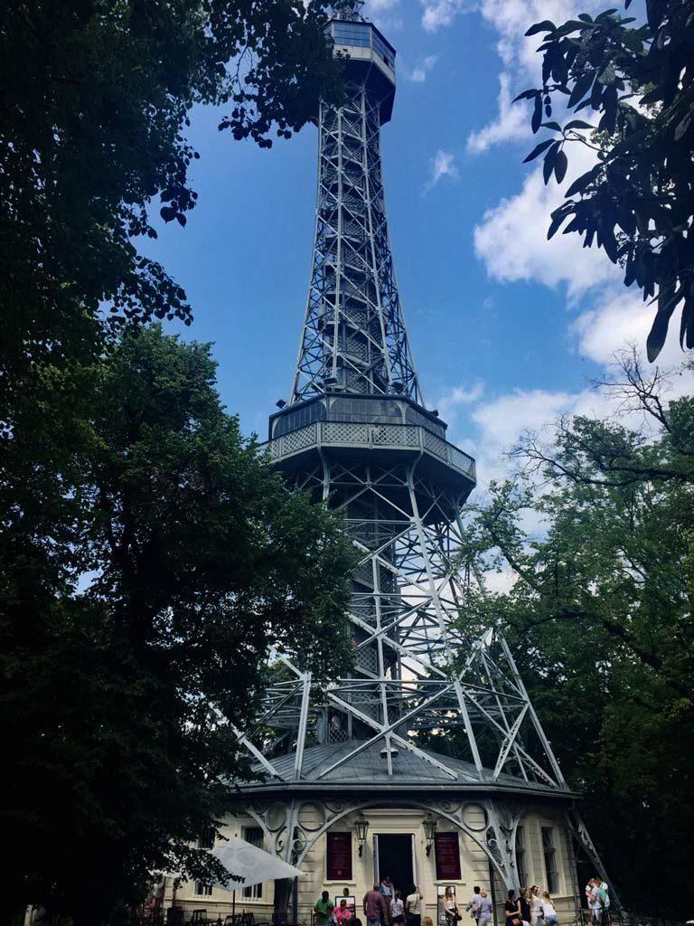 Petrin Turm Prag