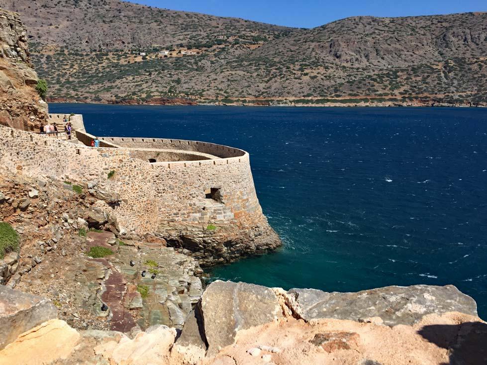 Spinalonga-Insel-bei-Kreta