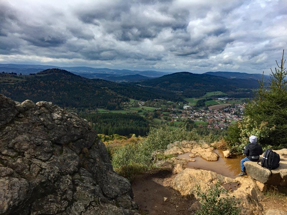 Aussicht-Silberberg-bayrischer-wald-mit-kindern