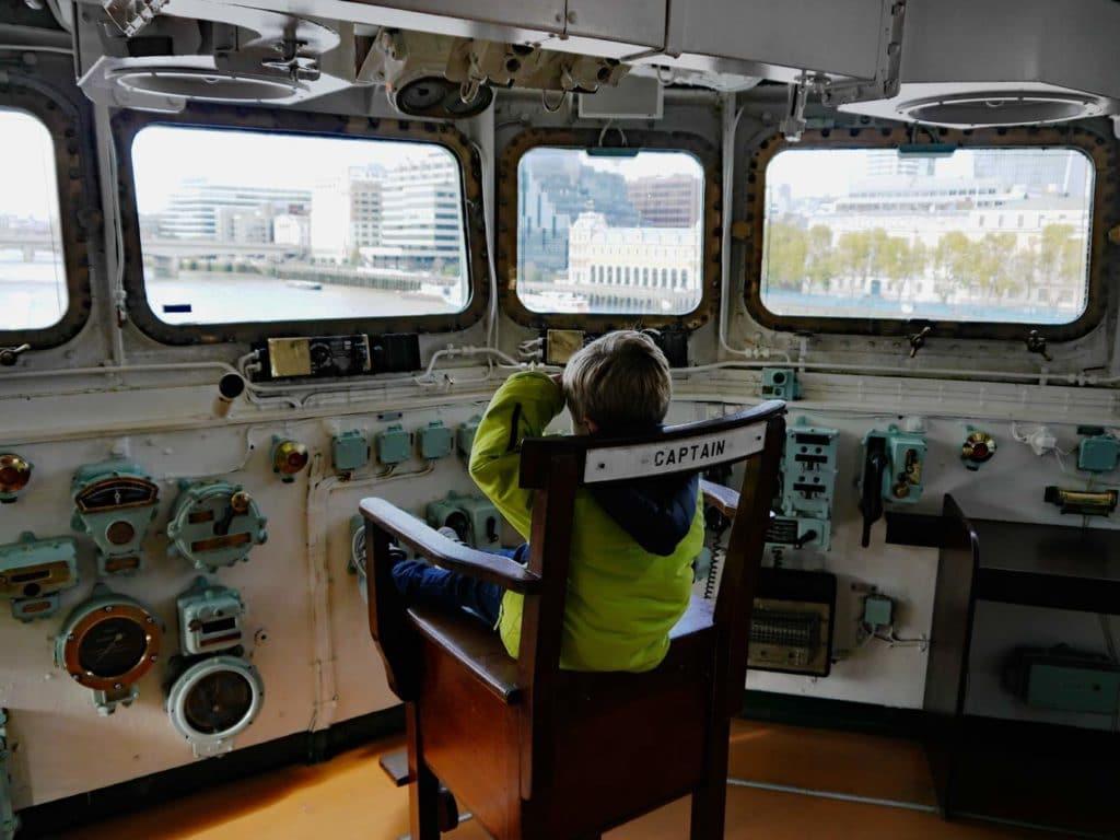 HMS-Belfast-besichtigen-Kriegsschiff London