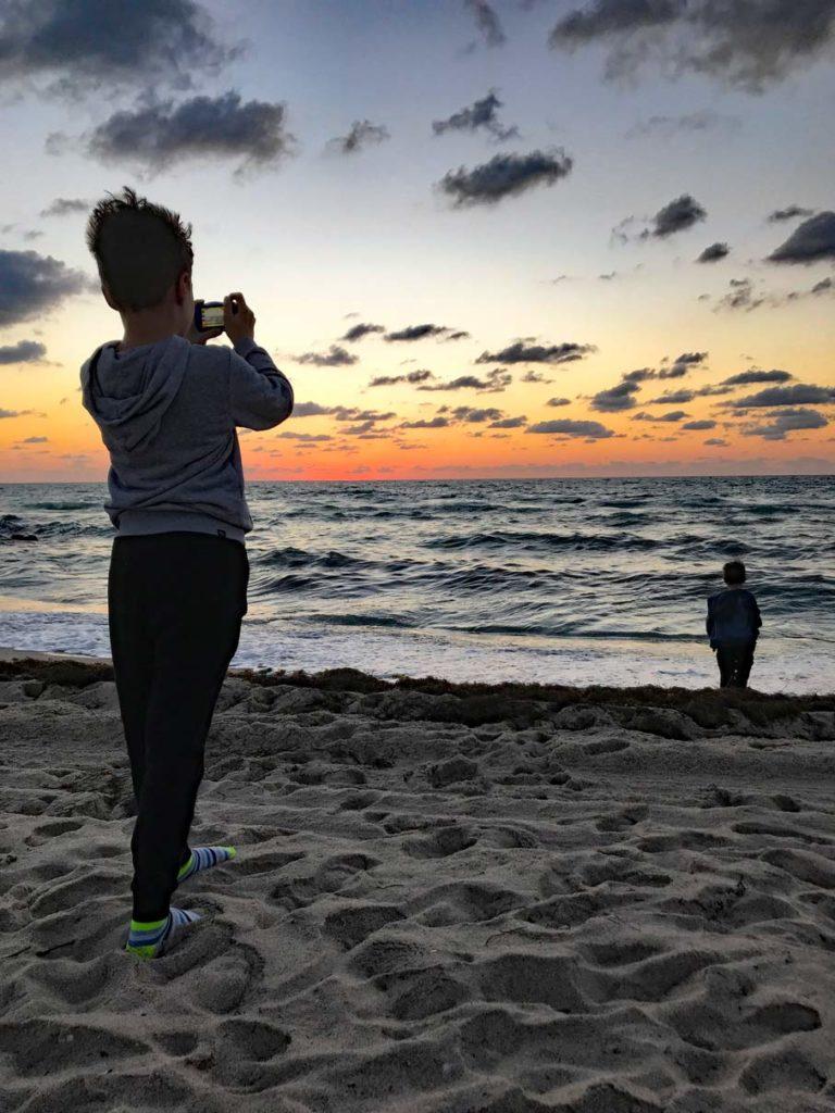 Sonnenaufgang-Miami-Beach-florida-rundreise-mit-kindern