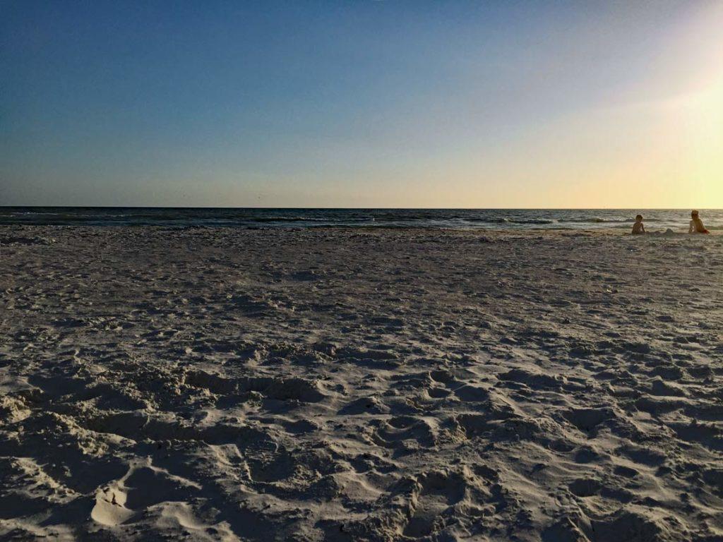 Sonnenuntergang-Golf-von-Mexiko-Fort-Myers