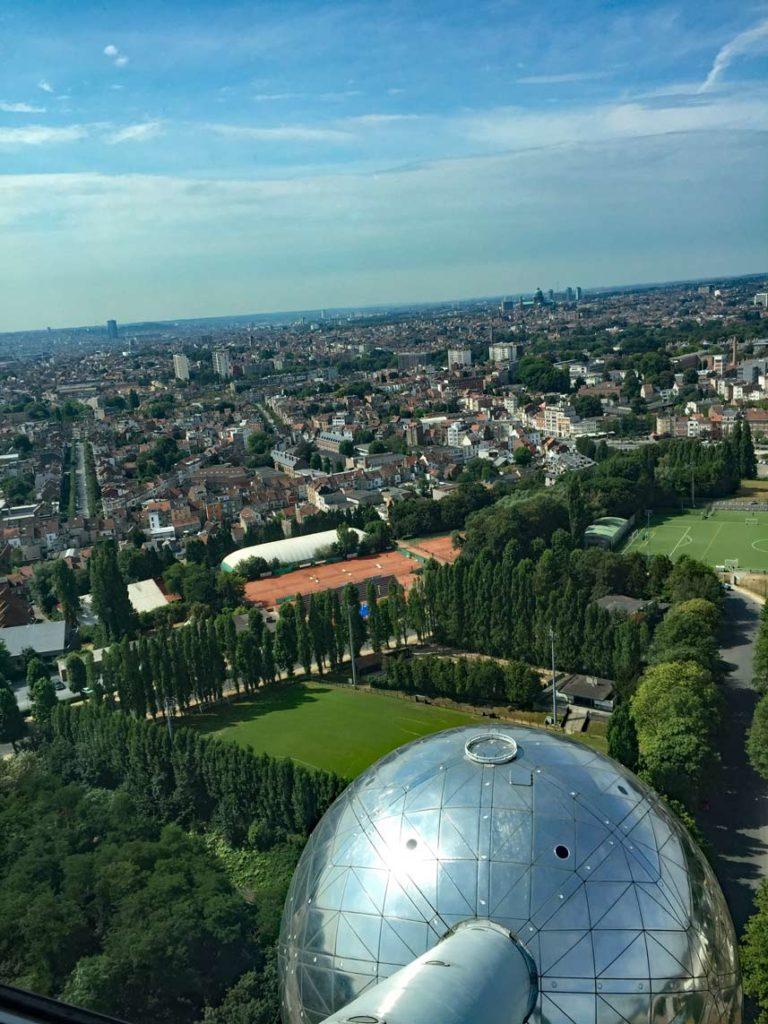 Belgien-Atomium-Bruessel