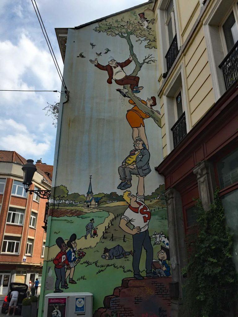 Belgien-Brüssel-Street-Art
