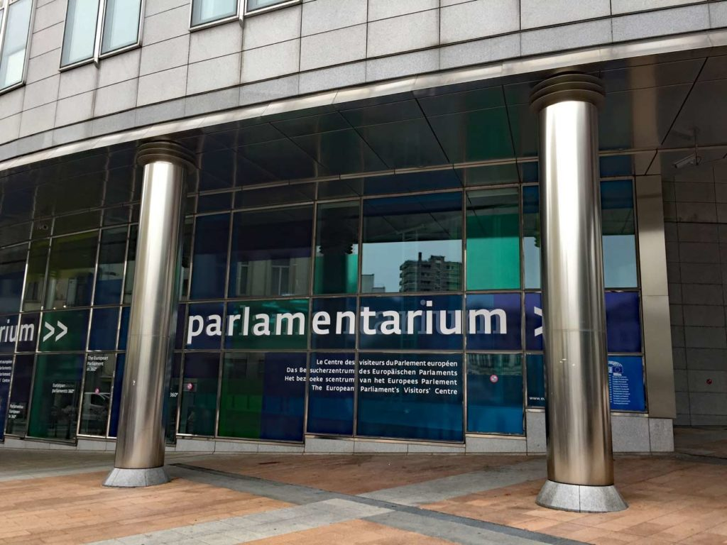Parlamentarium-Brüssel-Belgien