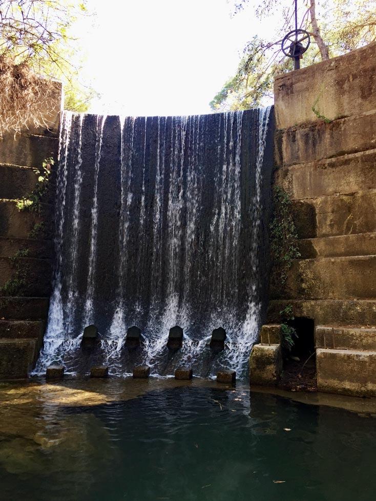 Wasserfall-Rhodos-Archangelos