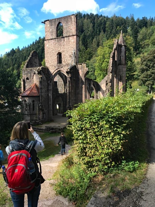 Klosterruine-Allerheiligen-Schwarzwald-baiersbronn-mit-kindern