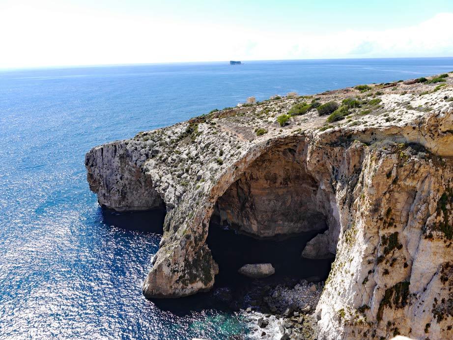 Blaue-Grotte-Malta
