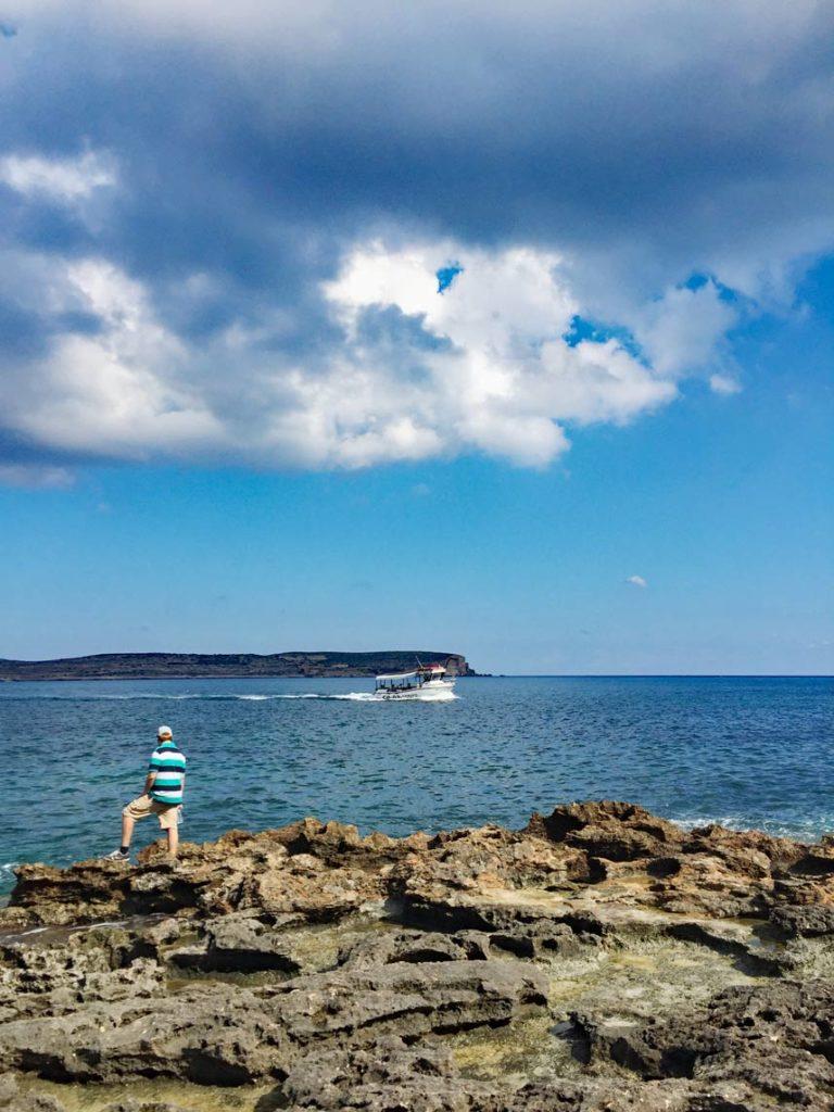 Malta-Blick-auf-Gozo