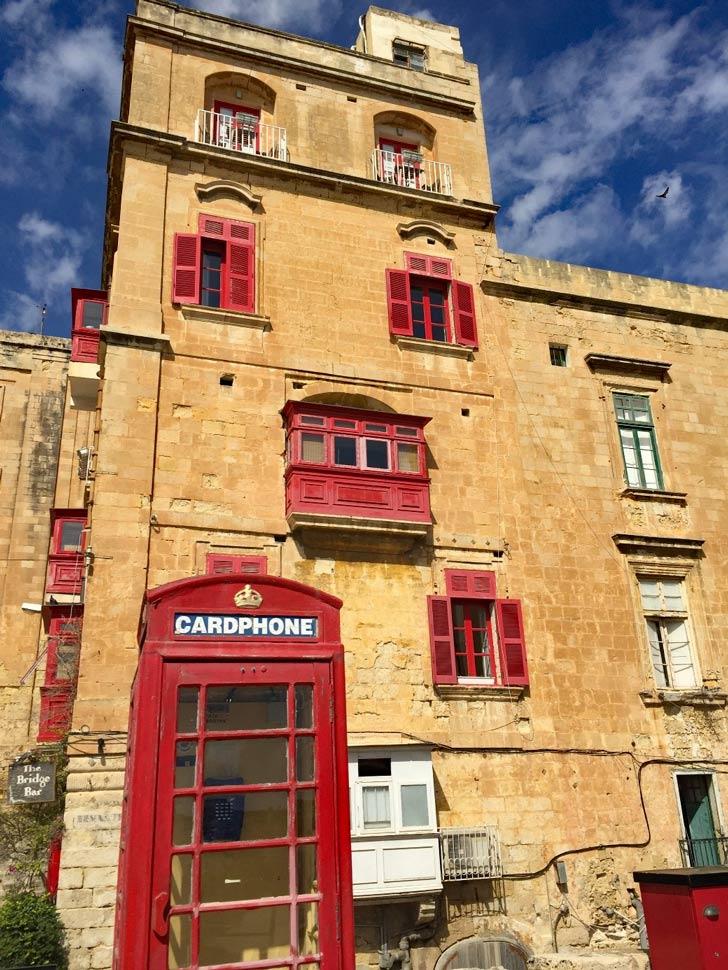 malta britische telefonzelle