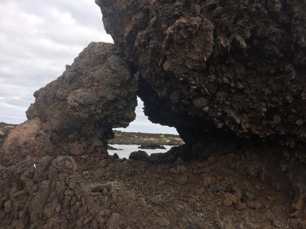 einsame Strände Lanzarote