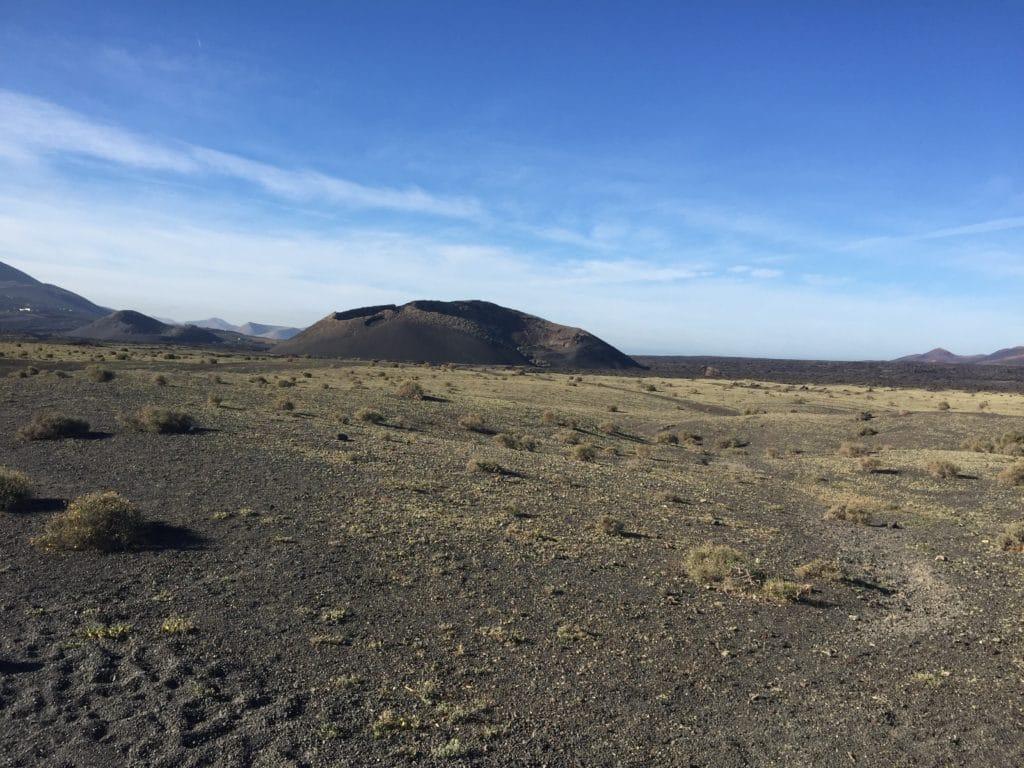 Montana de los cuervos - Lanzarote