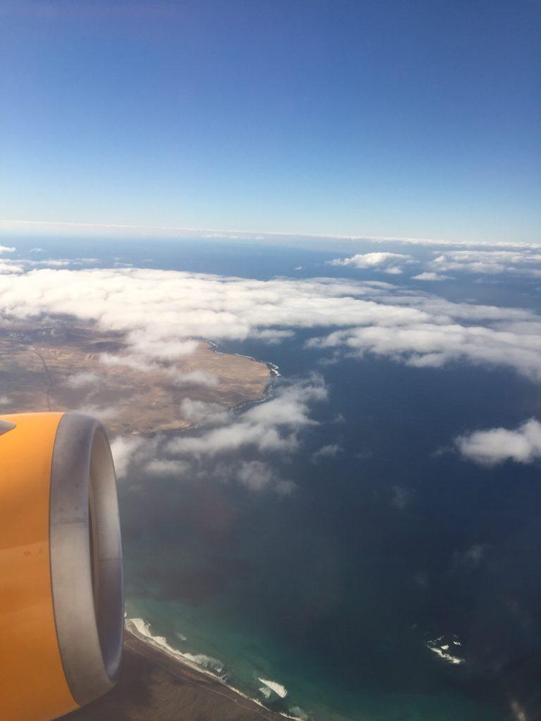 Flug Lanzarote