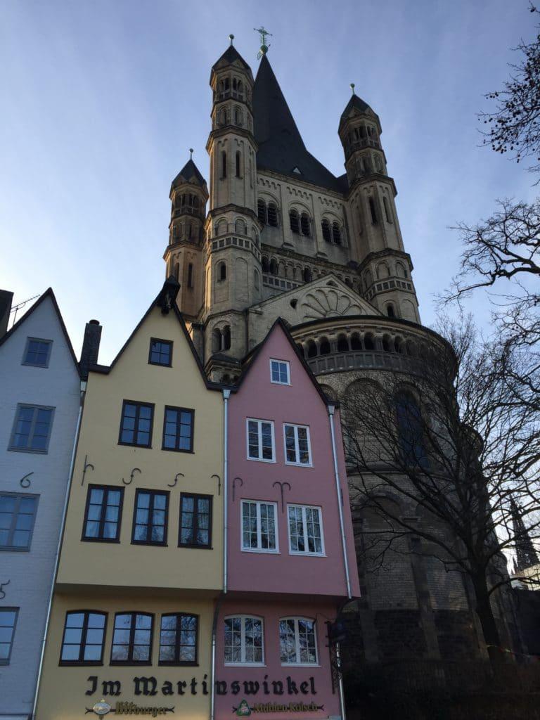 Groß Sankt Martin Köln-römische-ausgrabung