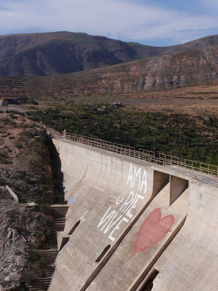 Staumauer Lanzarote