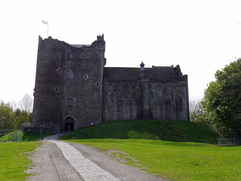 Doune Castle mit Kindern