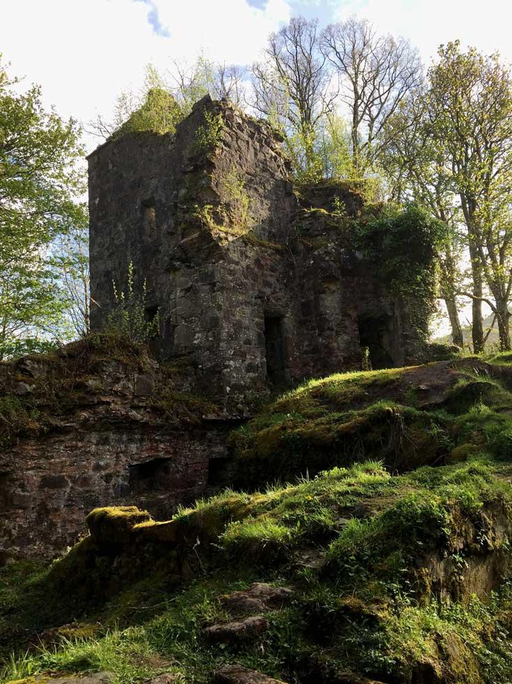 Finlarig-Castle bei Killin Schottland