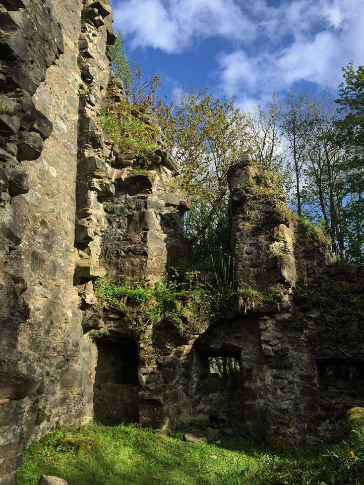 Finlarig Castle Ruine Schottland