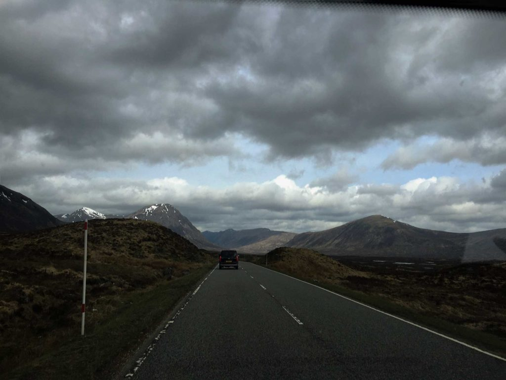 Glen Coe Straße Schottland Roadtrip