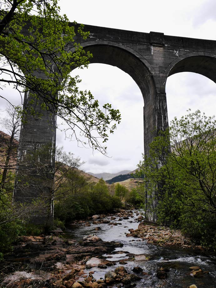 Glenfinnan-Viaduct Schottland Jacobite Train-top5-harry-potter-reiseziele