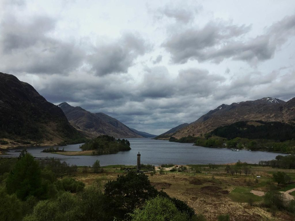Glennfinnan Roadtrip Schottland mit Kindern