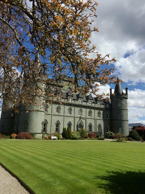 Inveraray Castle Schottland mit Kindern