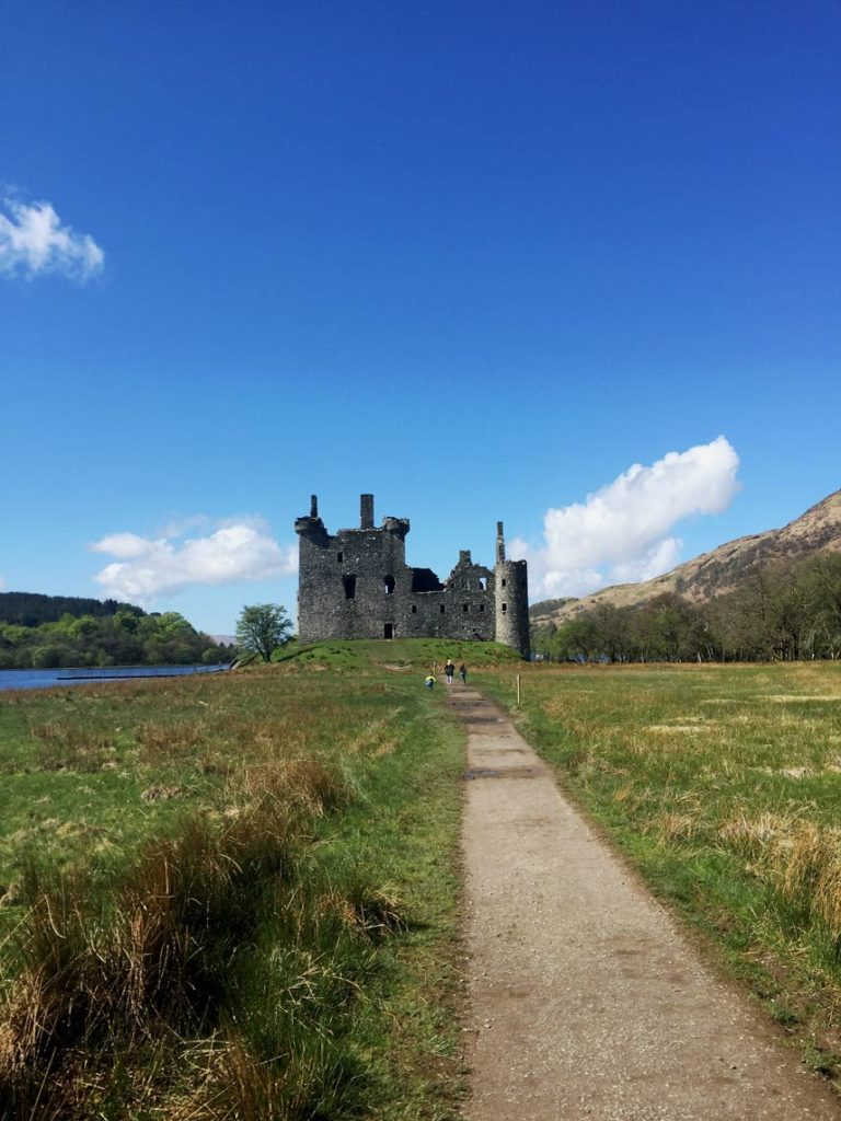 Kilchurn-Castle Burgruine Schottland