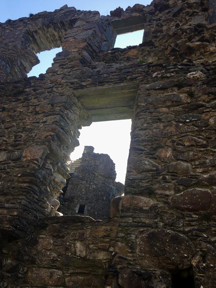 Kilchurn Ruine Highlands Schottland