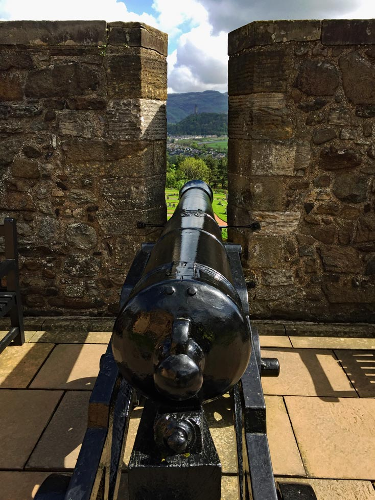 Stirling Castle Blick Wallace Monument
