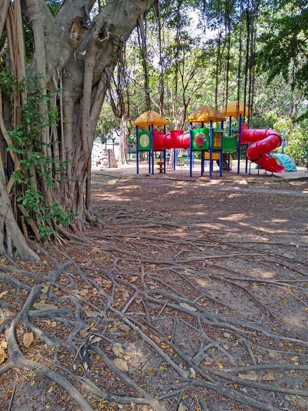 spielplatz lumphini park bangkok mit kindern