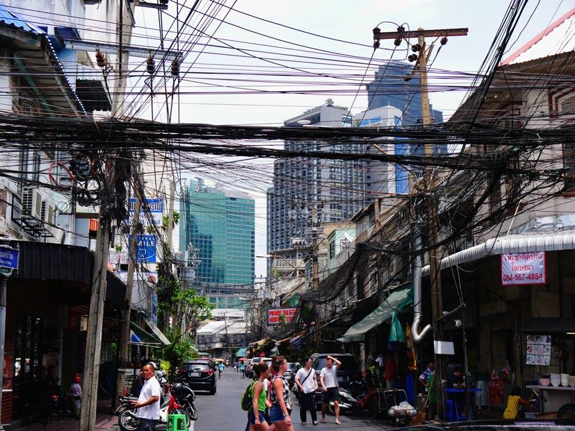 bangkok mit kindern verkehr