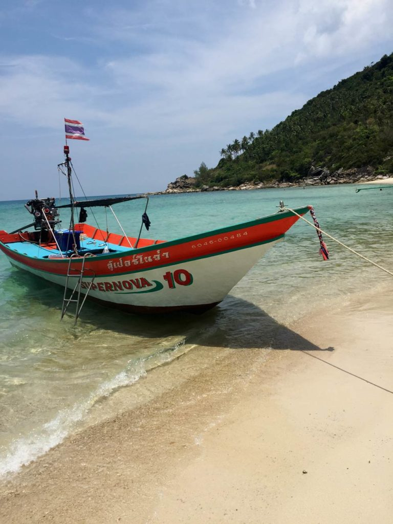 longtailboat koh phangan schnorcheln