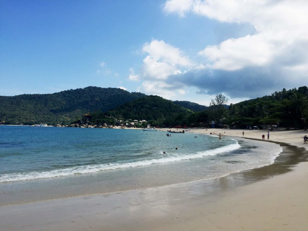 thong nai pan noi beach koh phangan thailand