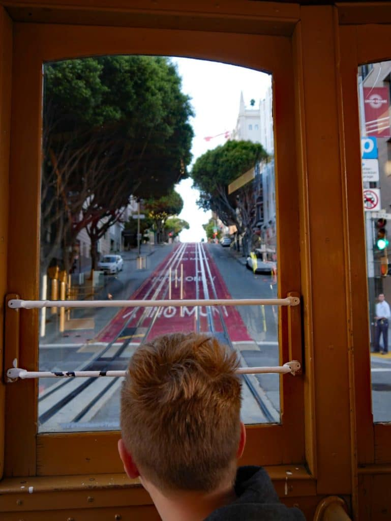 cable car kalifornien san francisco