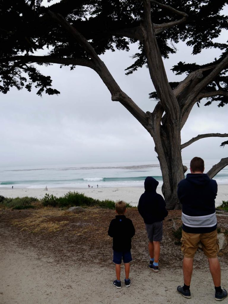 carmel by the sea highway 1 mit kindern