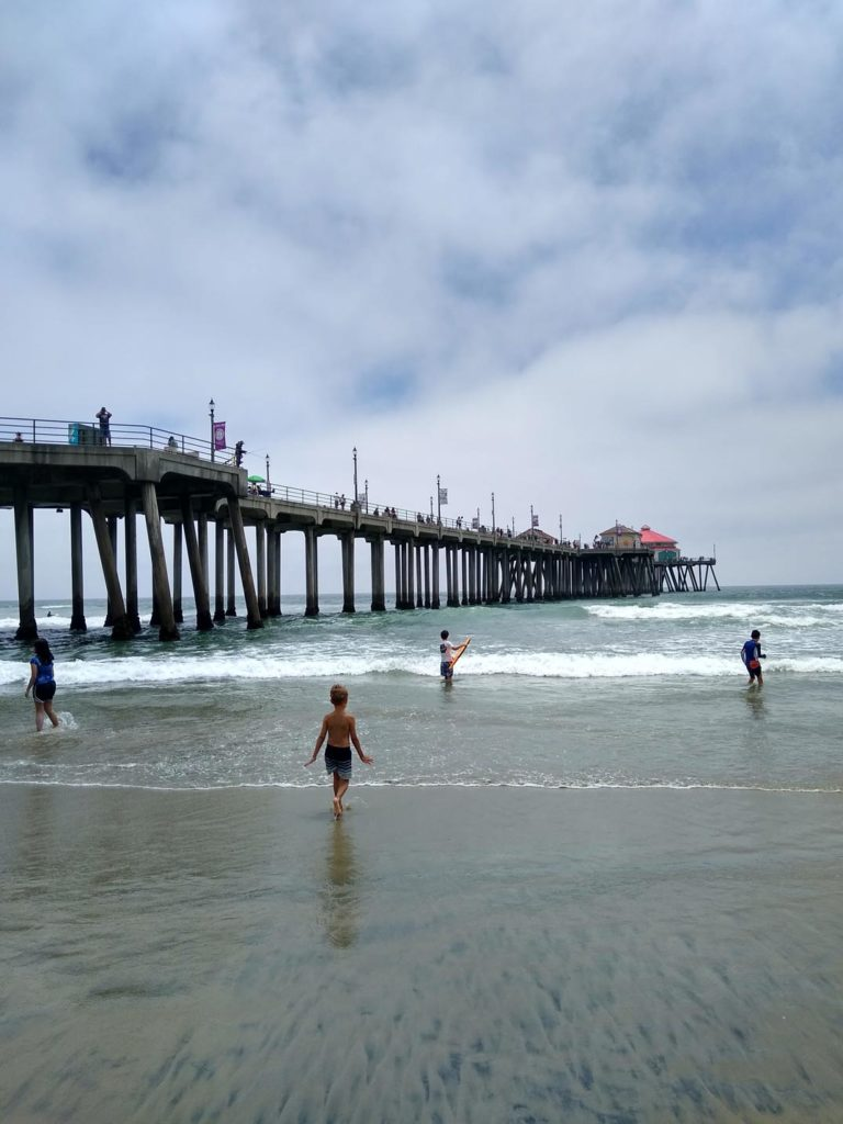 huntington-beach-los-angeles-mit-kindern