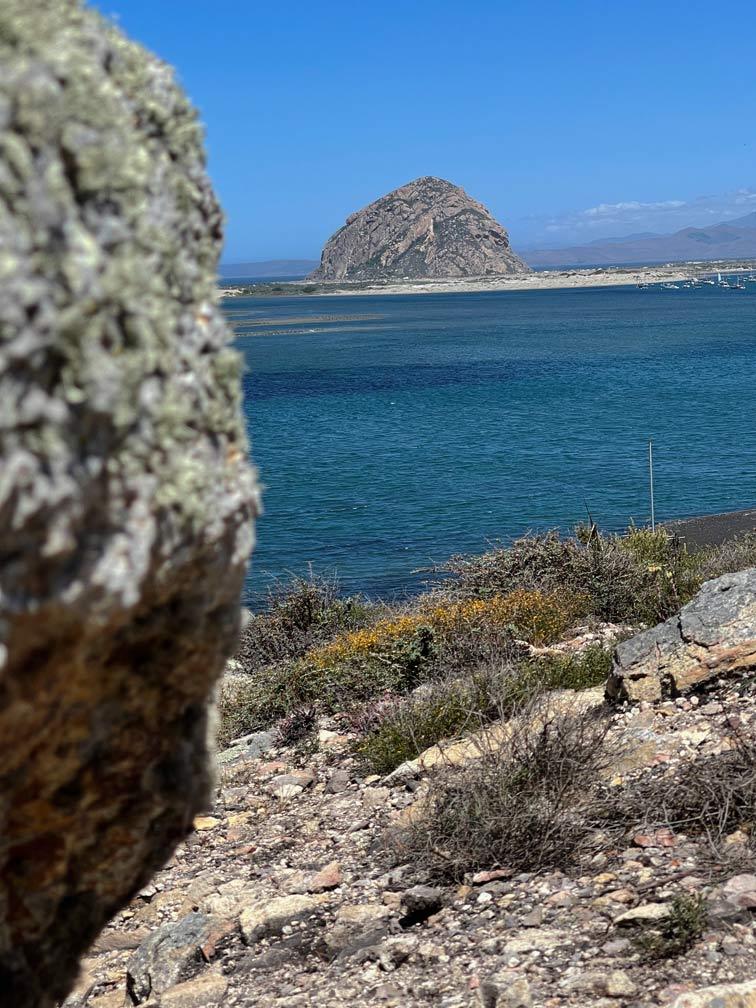 morro bay rock kalifornien highway 1 mit kindern
