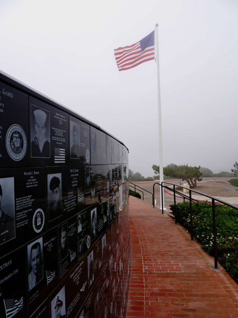 mount-soledad-national-veterans-memorial-san-diego-mit-kindern