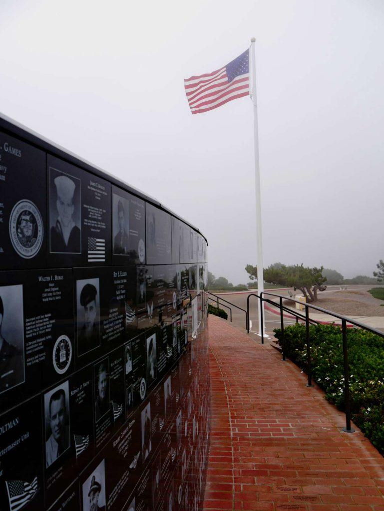 mount-soledad-national-veterans-memorial-san-diego-mit-kindern