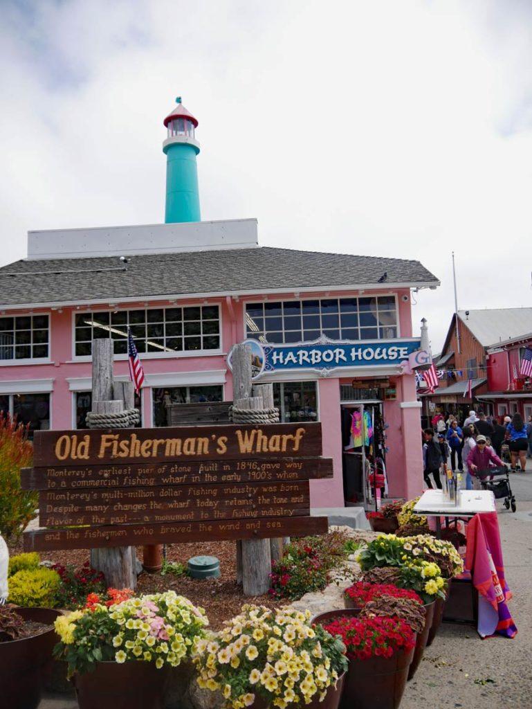 old-fishermans-wharf-monterey-highway-no-1-mit-kindern
