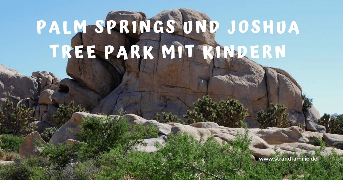 Palm Springs und Joshua Tree Nationalpark