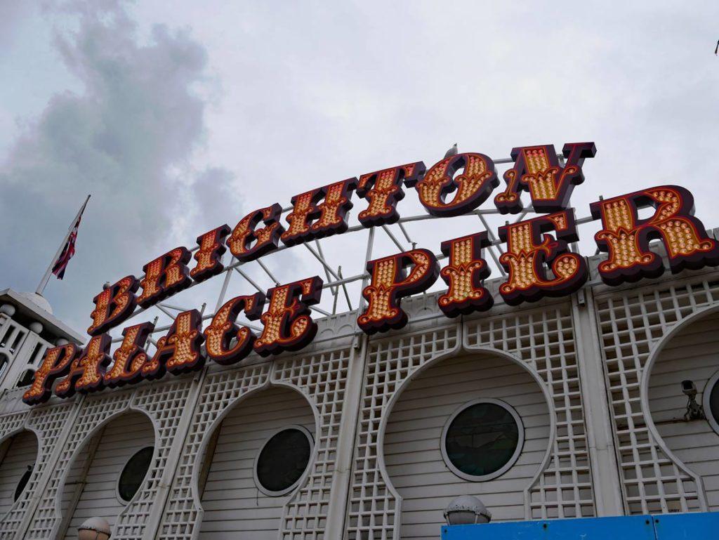 brighton palace pier mit kindern