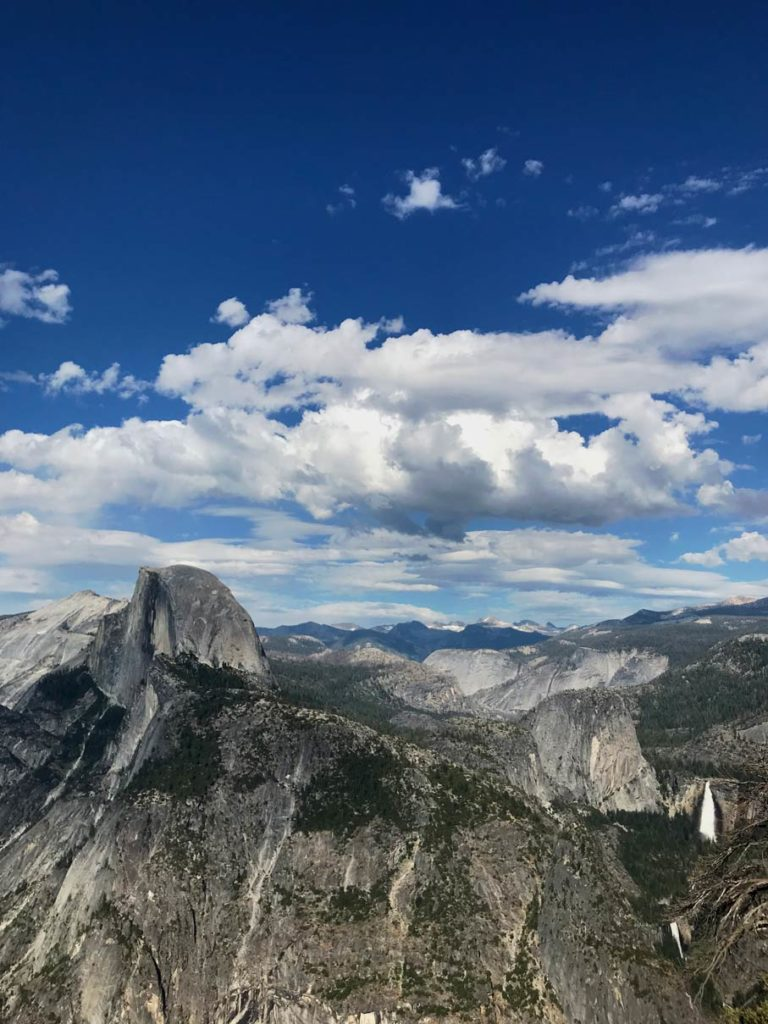 glacier point half dome yosemite mit kindern