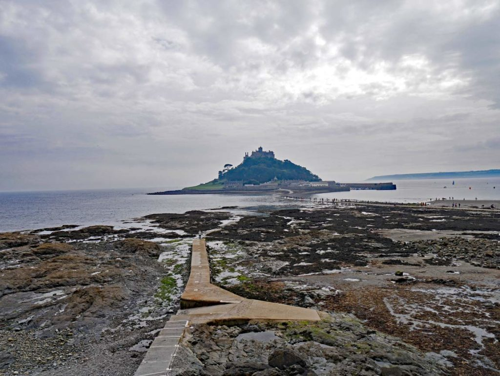 st-michaels-mount-cornwall-mit-kindern