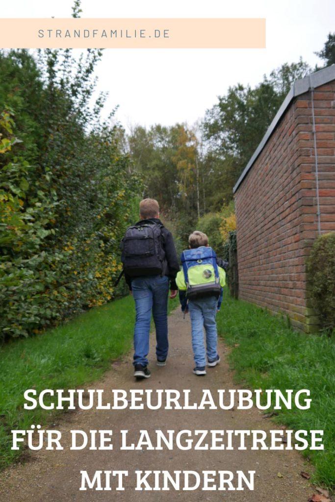 Schulbeurlaubung-Weltreise