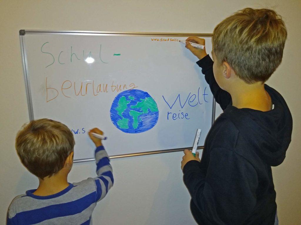 vorbereitung weltreise schulbeurlaubung schulpflichtige kinder