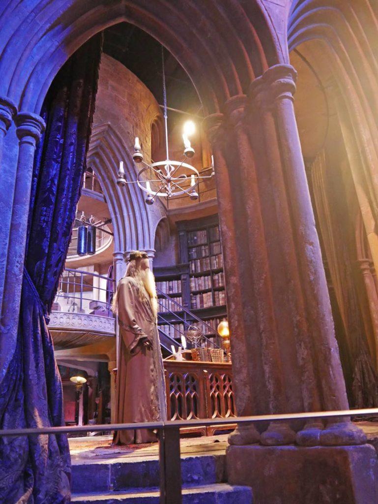 dumbledore harry potter studios mit kindern