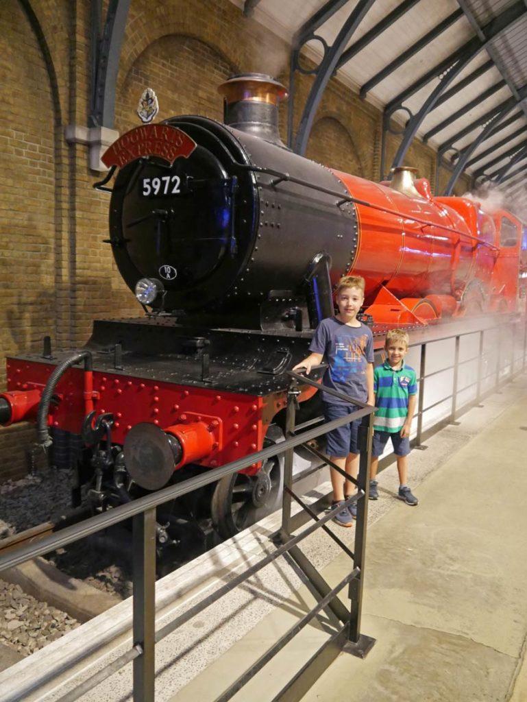 hogwarts express harry potter museum mit kindern