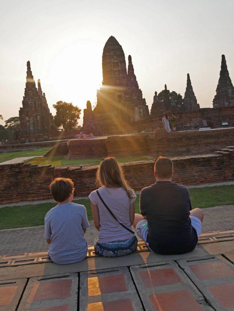 ayutthaya mit kindern