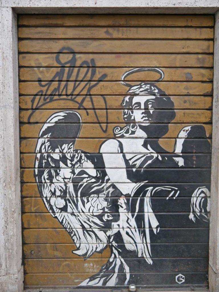 streetart rom mit kindern